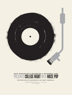 San Francisco Museum of Modern Art College Night poster by Jason Munn
