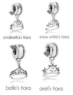 NEW 2015 Spring Disney Pandora Princes Tiara's - Pre-Sale #PandoraforDisney #Dangle
