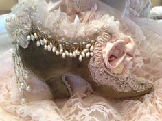Victorian Velvet Shoe (Sold)