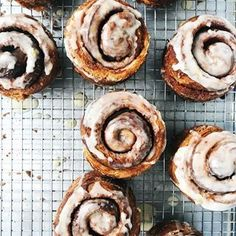 It's Monday! And here is another bun recipe, just like I promised. This time I have Morning Buns for you - made with my easy Danish dough,… Breakfast Pastries, Bread And Pastries, Breakfast Bake, Breakfast Recipes, Dessert Recipes, Iced Buns, Cinnamon Bun Recipe, Cinnamon Rolls, Morning Bun