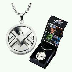 Marvel Clothes, Superhero Clothes, Fandom Jewelry, Shield Logo, Accesorios Casual, Agents Of Shield, Cute Jewelry, Geek Jewelry, Body Jewelry