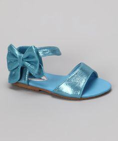 Take a look at this Blue Apple-55 Sandal by QQ Girl on #zulily today!