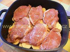 Kotlety na šlehačce Pork, Meat, Kale Stir Fry, Pork Chops
