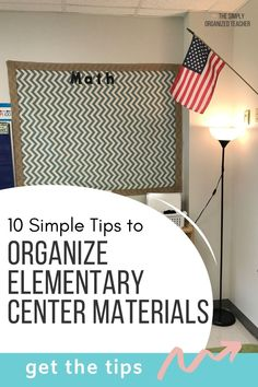 Looking to organize your elementary centers? This post shares ___ ways you can organize your stations more efficiently. Guided Reading Organization, Teacher Organization, Teacher Hacks, Organizing, First Year Teachers, New Teachers, Classroom Setup, Classroom Resources, Organized Teacher