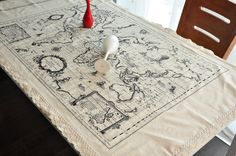 vintage inspired cotton linen fabric world map 1000 via etsy things i love at random pinterest linen fabric linens and fabrics