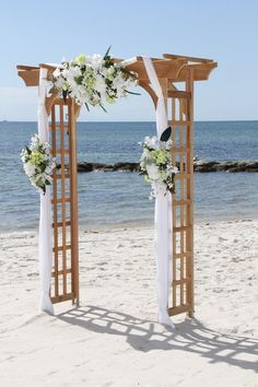Top 100+ Great Ideas of Beach Wedding Arches https://bridalore.com/2017/05/23/100-great-ideas-of-beach-wedding-arches/