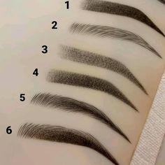 BROW DESIGNS I can do with microblading & digital machine. my favourite is 6 BROW DESIGNS I can do with microblading & digital machine. my favourite is 6 Best Eyebrow Makeup, Eyebrow Styles, Eyebrow Design, Permanent Makeup Eyebrows, Eye Makeup, Insta Makeup, Beauty Makeup, Eyebrows Sketch, Mircoblading Eyebrows