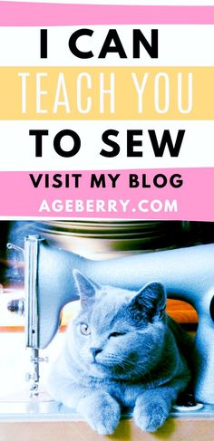 We help you succeed in sewing by offering video sewing tutorials, free patterns, unique sewing tips and hacks you can easily implement, interesting DIY ideas, easy sewing projects and much more. Check out my sewing blog Ageberry - helping you succeed in sewing. Sewing tips, tutorials, sewing projects to inspire you to sew. #sewing #sewingtutorials #videosewingtutorials #sewingtips #sewingprojects Sewing For Beginners Diy, Sewing For Dummies, Sewing Basics, Sewing Blogs, Sewing Tips, Sewing Hacks, Sewing Tutorials, Easy Sewing Patterns, Easy Sewing Projects