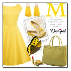 """""""Life in color"""" by fashion-pol ❤ liked on Polyvore featuring MELLOW YELLOW and vintage"""
