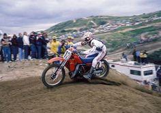 1983 Bob Hannah on a Honda