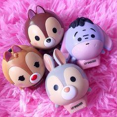 Os balms ULTRA fofos da Lip Smacker – www. Kawaii Makeup, Cute Makeup, Tinted Lip Balm, Lip Tint, Best Acne Products, Best Makeup Products, Gloss Labial, Disney Makeup, Nice Lips