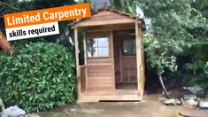 Cedarshed USA is the world leader in custom outdoor DIY cedar buildings for your home, including wood storage sheds, backyard gazebo kits, pergolas, garden shed plans and accessories. Prefab Sheds, Diy Greenhouse Plans, Shed Building Plans, Building Ideas, Building Design, Diy Shed Plans, Large Sheds, She Sheds, Shed Design