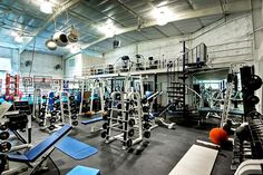 Mark Walberg's home gym
