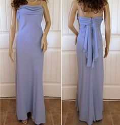 Blue Strapless Dress Long Formal Evening Gown Bridesmaid Mother Bride Wedding 6 | Clothing, Shoes & Accessories, Women's Clothing, Dresses | eBay!