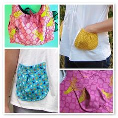 TUTORIAL: Pleated Pocket! - Made By Rae -- These would be cute on aprons!