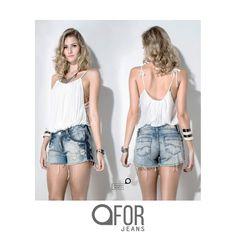 Conforto e estilo na coleção da FOR JEANS para o próximo verão. Jeans para todos os lugares.