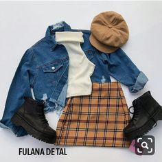 Amazing Womens Outfit For 2019 Source by juveni., Amazing Womens Outfit For 2019 Source by juvenil femenina moda Cute Casual Outfits, Retro Outfits, Grunge Outfits, Stylish Outfits, Vintage Outfits, Teen Fashion Outfits, Mode Outfits, Outfits For Teens, Fall Outfits