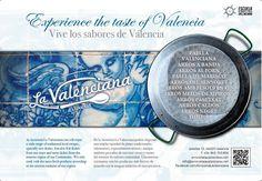 Experience the taste of Valencia.