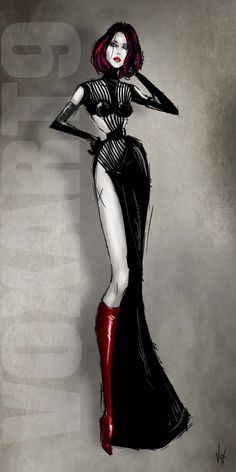 Elegant strands - pa