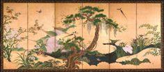 Pájaros y flores de primavera y verano. Suntory Museum of Art