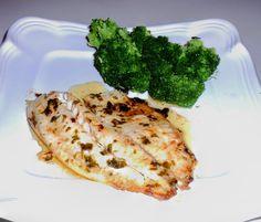 Kathy's Kitchen: Low Carb Talapia with Lemon Garlic Butter Sauce Tilapia Recipes, Fish Recipes, Seafood Recipes, Low Carb Recipes, Dinner Recipes, Healthy Recipes, Healthy Meals, Healthy Habits, Yummy Recipes