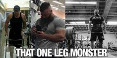 KC Mitchell That One Leg Monster If you need some motivation for your next workout then you need to check this out