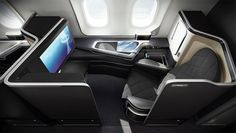 First-class passengers on British Airways flights to Abu Dhabi, Kuala Lumpur, Delhi and San José will be seated in suites and cabins designed by UK agency Forpeople for the airline's new Boeing Dreamliner aircraft fleet. First Class Plane, First Class Airline, Flying First Class, First Class Seats, First Class Flights, British Airways, British Airline, Luxury Cabin, Luxury Life