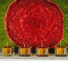 Свечи в стекле ✨ Натуральный пчелиный воск + хлопковый фитиль https://instagram.com/p/BGel6GAEwEG/