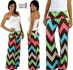 Cute chevron pants