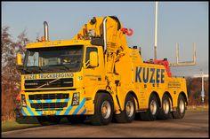 Terberg FM2850 10X4 + 92T/M Effer autolaadkraan  - Kuzee Autologistiek