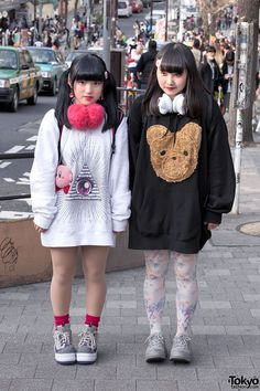 Itazura Tokyo Street Styles in Harajuku w/ Decotrand & Kirby (Tokyo Fashion, 2015)