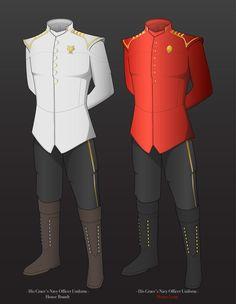 The Kingdom's Navy Uniform WIP by *madeinjapan1988 on deviantART