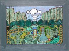 Gerald Shepherd: Landscape From A Garden