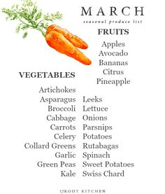 Today, I'm sharing my May Seasonal Produce List! Every month this year, I will be sharing a seasonal produce list so that you all can have a handy dandy printab In Season Produce, Fruit In Season, Make A Grocery List, Whats In Season, Eat Seasonal, Food Charts, Cookies Et Biscuits, Fruits And Veggies, Just In Case