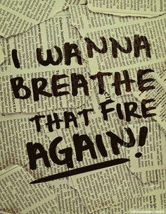 quiero respirar ese fuego otra vez the killers