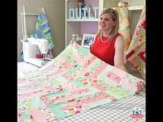 ▶ Jelly Roll Jam - Shortcut Quilt Series - Fat Quarter Shop - YouTube