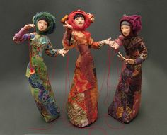 The Red Thread......stump dolls