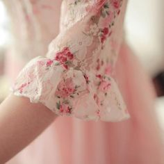 Lace with flowers-Romantiska Hem