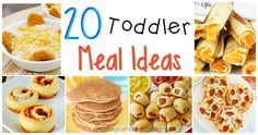 Looking for some new toddler meal ideas?  Those little fingers want to dig in and help feed themselves, so what better than to make bite size foods that can easily be held for self-feeding. By no means does toddler food mean it needs to lack flavour, either. Here is a great collection of simple recipes for toddlers to...Read More »