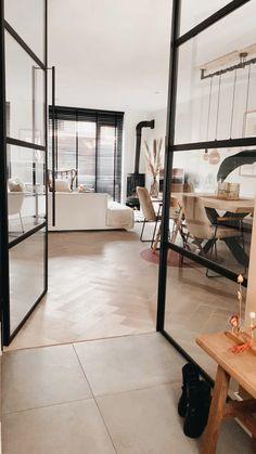 Home Room Design, Interior Design Living Room, Living Room Designs, House Design, Industrial Chic Decor, Industrial Interior Design, Industrial Workspace, Industrial Apartment, Industrial Living