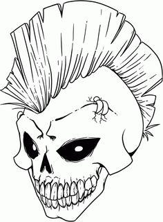 Scary Stuff On Pinterest Skull Skeletons And Skull Art