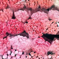 Flowers, roses, pink inspiration, flower power, pretty in pink. Fuchsia, Pastel Pink, Pink Pink Pink, Pink White, Pink Love, Pretty In Pink, Pink Flowers, Beautiful Flowers, Beautiful Bouquets