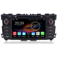 "8"" Android Autoradio Car Multimedia Stereo GPS Navigation DVD Radio Audio Head Unit Nissan Teana Altima 2013 2014 2015"