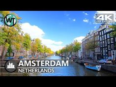 Places To Travel, Oh The Places You'll Go, Places To Visit, Virtual Travel, Virtual Tour, Amsterdam City Centre, Virtual Field Trips, Wanderlust Travel, Walking Tour