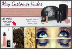Get our May customet kudos for only $50! Our most popular products all in one collection! We only started with 50,000 of these and we've sold over 13,000 already! Get yours today before it's too late! They are selling fast! www.youniqueproducts.com/sandradelasky