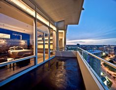 Master Bedroom in penthouse