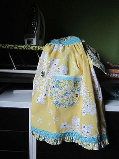 Sunny Skies Apron by StitchedInColor, via Flickr