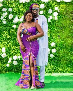 Couples African Outfits, African Wear Dresses, Latest African Fashion Dresses, African Print Fashion, Bride Reception Dresses, African Print Dress Designs, Kente Dress, Traditional Wedding Attire, African Wedding Attire