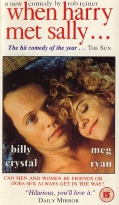 When Harry Met Sally #megryan #billycrystal #noraephron love this n billy miss Meg Ryan in these kind of movies ..this movie was my first into to Harry connick music