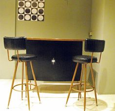 Mid century bar......yes please.